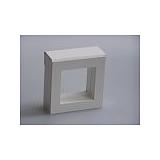 Luxusná koženková krabička, 50x50x25, biela
