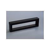 Luxusní koženková krabička, 220x40x25, černá