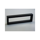 Luxusná koženková krabička, 265x60x25, čierna