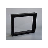 Luxusná koženková krabička, 230x180x35, čierna
