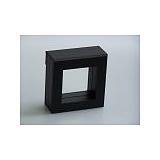 Luxusní koženková krabička, 50x50x25, černá