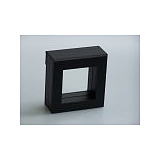 Luxusná koženková krabička, 50x50x25, čierna