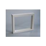Luxusná koženková krabička, 230x180x35, biela