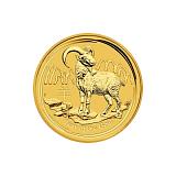 Investičná zlatá minca Lunárna séria - rok kozy 100 AUD 1 oz