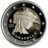 Pamätná minca, 2EUR 550. výročie úmrtia Donatella proof