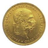 Zlatá mince, 20KORUN, František Josef I., 1893
