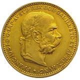 Zlatá mince, 20KORUN, František Josef I., 1894