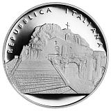 """Pamětní stříbrná mince, 10EUR """"Série Italské umění - Matera"""" proof"""