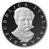 Pamětní stříbrná mince, 5EUR 200. výročí narození Francesca De Sanctis proof