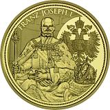 """Pamětní zlatá mince, 100EUR """"Habsburské koruny - Rakouská císařská koruna"""" proof"""