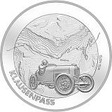 """Pamětní stříbrná mince, 20CHF """"Klausen Pass"""" stand"""
