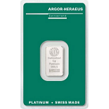 Investiční platina, slitek Argor Heraeus 5 g