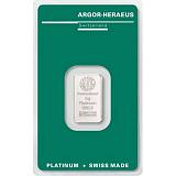 Investičná platina, zliatok Argor Heraeus 5 g
