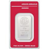 Investičné striebro, zliatok Argor Heraeus 20 g