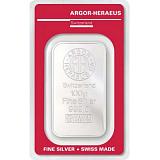 Investičné striebro, zliatok Argor Heraeus 100 g