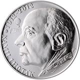 Pamätná strieborná minca, 200Kč Kamil Lhoták stand