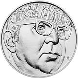 Pamätná strieborná minca, 200Kč Josef Kainar stand