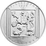 Pamätná strieborná minca, 200Kč 17. november 1989 stand