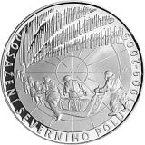 Pamětní stříbrná mince, 200Kč 100. výročí dosažení severního pólu proof