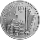Pamätná strieborná minca, 10EUR Ján Cikker - 100. výročie narodenia stand