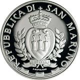 """Pamětní stříbrná mince, 5EUR """"Hry malých států Evropy San Marino 2017"""" proof"""