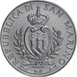"""Pamětní stříbrná mince, 5EUR """"25. výročí pádu Berlínské zdi"""" stand"""
