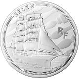 "Pamätná strieborná minca, 10EUR 2016 ""Veľké lode - Belem"" proof"