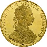 Investiční zlatá mince, 4DUKÁT František Josef I. 1915