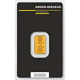 Investiční zlato, slitek Argor Heraeus 2 g