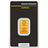 Investiční zlato, slitek Argor Heraeus 5 g