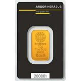 Investiční zlato, slitek Argor Heraeus 10 g