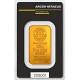 Investiční zlato, slitek Argor Heraeus 20 g