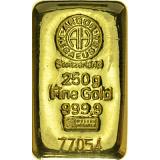 Investiční zlato, slitek Argor Heraeus 250 g