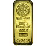 Investiční zlato, slitek Argor Heraeus 500 g