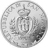 Pamětní stříbrná mince, 5EUR 250. výročí úmrtí Canaletta proof