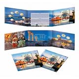 Sada pamätných mincí 2018, Grécko, Turizmus - Rhodos stand