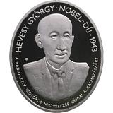 Pamětní stříbrná mince, 5000HUF 75. výročí udělení Nobelovy ceny Georgovi de Hevesy proof