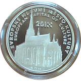 Investičná strieborná medaila, Plzeň 2015 - Európske hlavné mesto kultúry