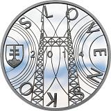 Pamätná strieborná minca, 10EUR Jozef Murgaš - 150. výročie narodenia stand
