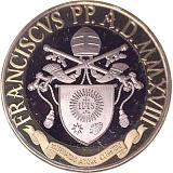 Pamätná minca, 5EUR 600. výročie Kopuly Katedrály Santa Maria del Fiore v sade obežných mincí 2018