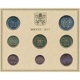 Sada oběžných mincí 2017, Vatikán