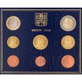 Sada obežných mincí 2014, Vatikán