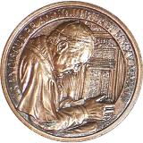 Bronzová medaile ke Svatořečení papežů Jana XXIII. a Jana Pavla II.