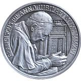 Strieborná medaila ku Svätorečeniu pápežov Jána XXIII. a Jána Pavla II.