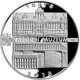 Pamětní stříbrná mince, 200Kč Založení Národního muzea proof