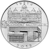 Pamätná strieborná minca, 200Kč Založenie Národného múzea stand
