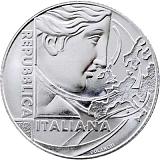 Pamětní stříbrná mince, 5EUR 60. výročí Římské dohody v sadě oběžných mincí stand