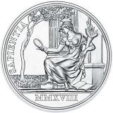 """Pamětní stříbrná mince, 20EUR """"Císařovna Marie Terezie - Prozíravost a reforma"""" proof"""
