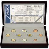 Sada pamětních mincí 2018, Řecko proof