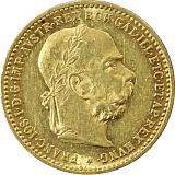 Zlatá minca, 10KORÚN, František Jozef I., 1905